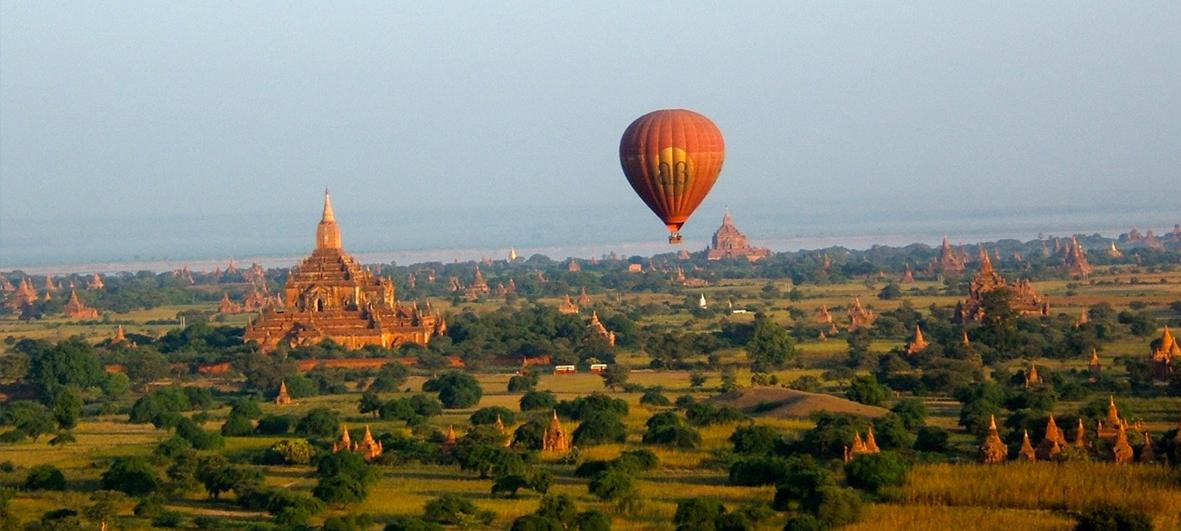 De Mandalay a las Pagodas en Bagan