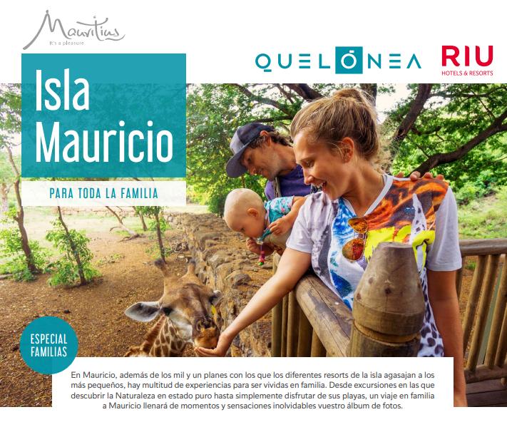 Viajes Margali, te lleva a Islas Mauricio en Familia.