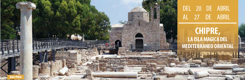 Chipre, 2º viaje de Club Viajeros Solitarios 2018. Reserva ya tu plaza