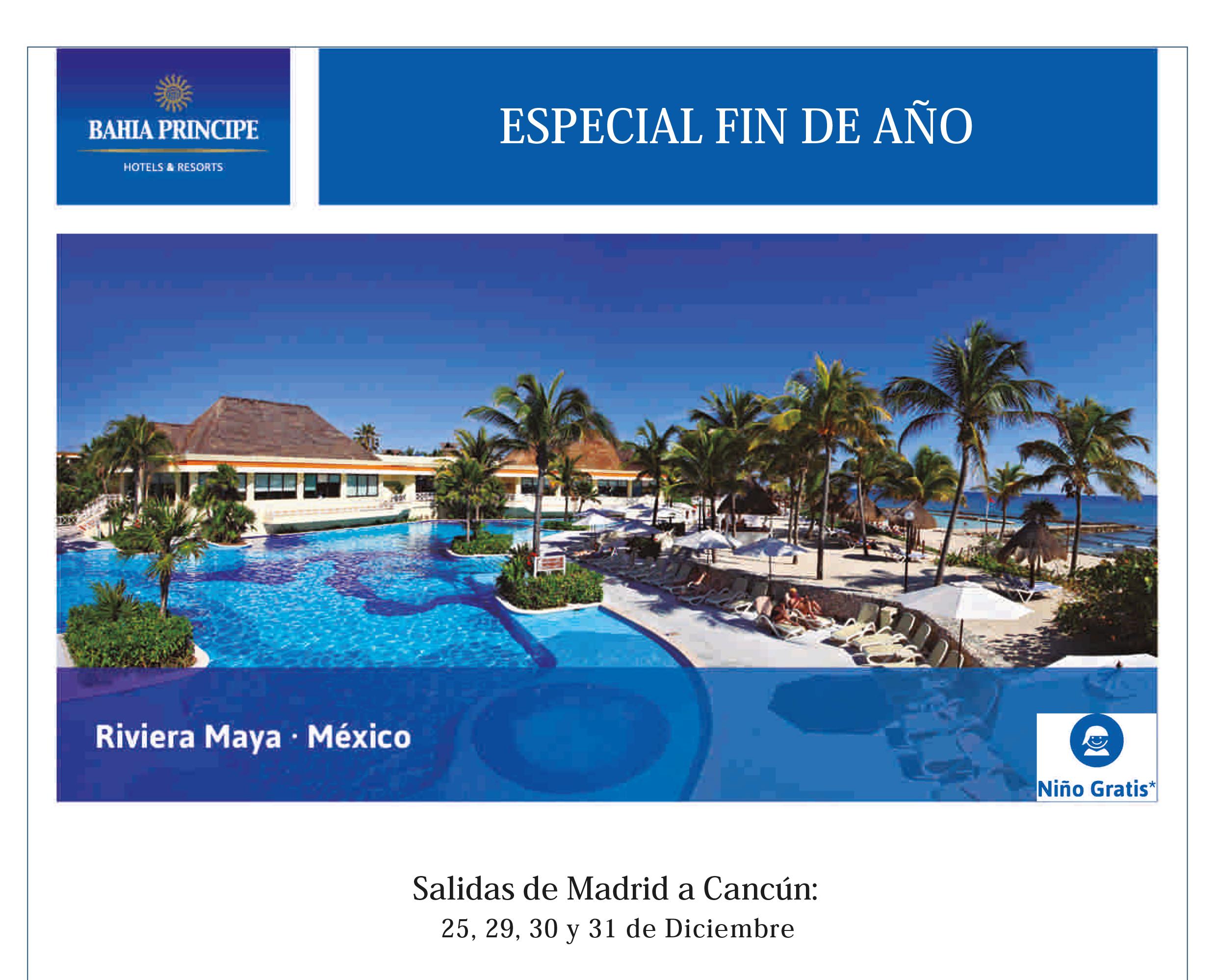 Especial Fin de Año Riviera Maya México