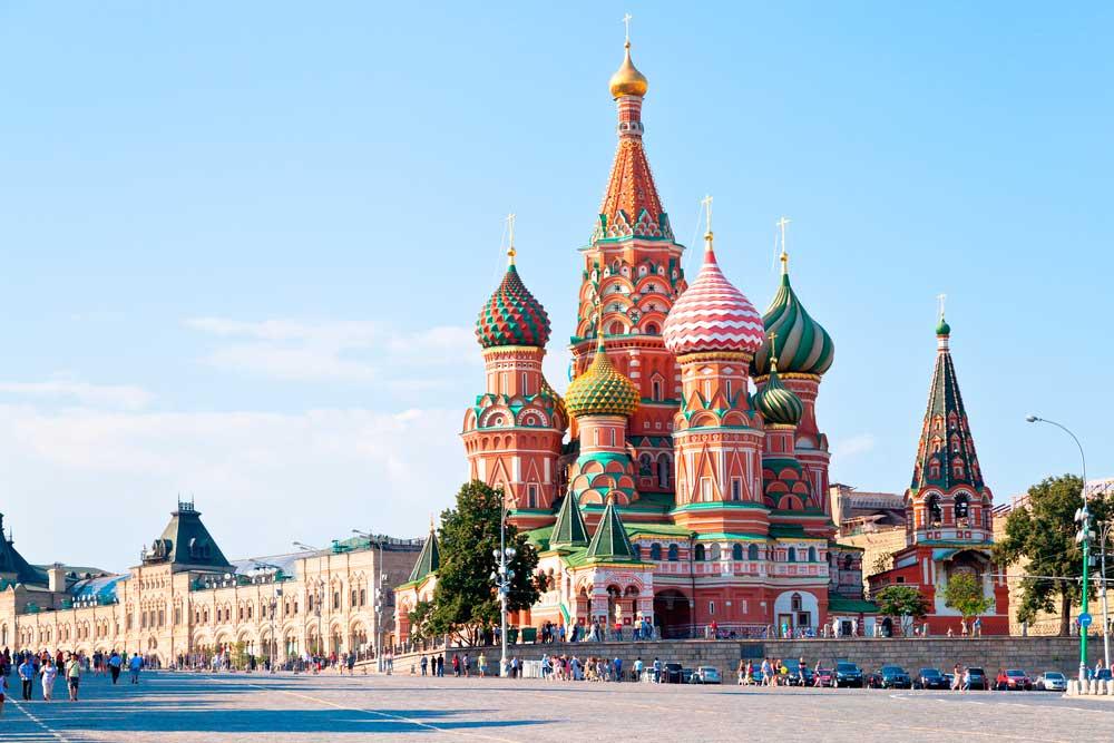 Oferta viaje Rusia (Moscú y San Petersburgo) Verano 2018