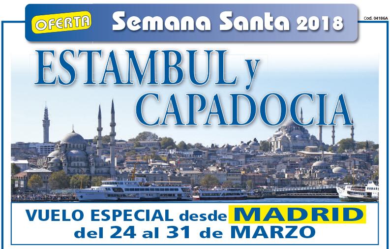 Oferta Estambul y Capadocia Semana Santa 2018
