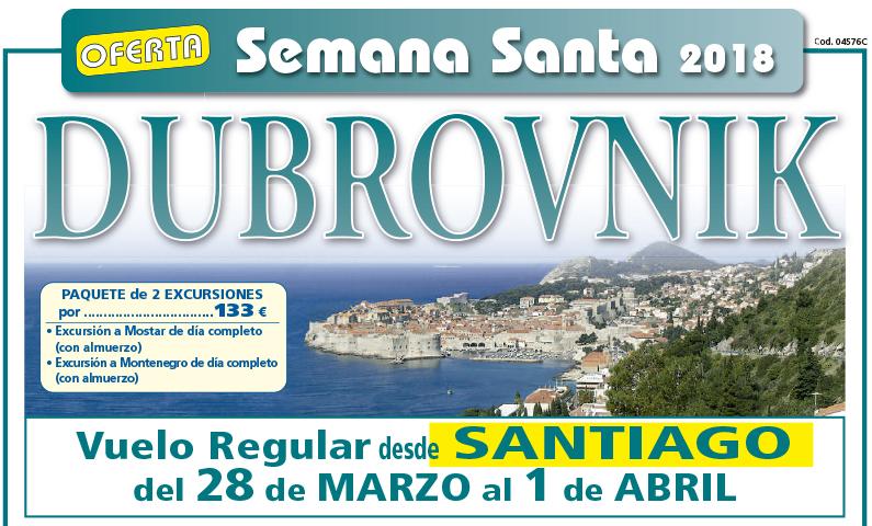 Oferta Dubrovnik Semana Santa