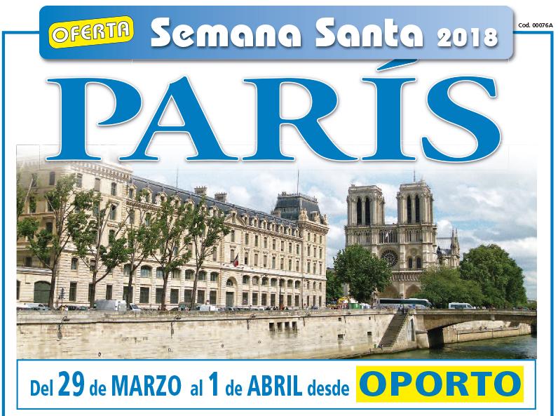 Oferta París Semana Santa
